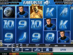 Fantastic Four slots77.net Playtech 1/5