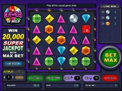 Bejeweled slots77.net CryptoLogic 5/5