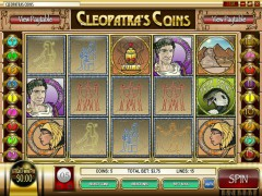 Cleopatra's Coins slots77.net Rival 1/5