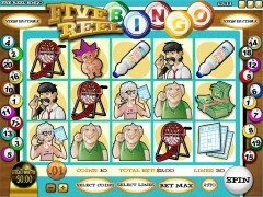 Five Reel Bingo slots77.net Rival 1/5
