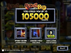 Under The Bed slots77.net Betsoft 1/5