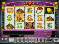 Queen of Hearts slots77.net Gaminator 1/5