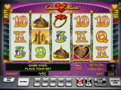 Queen of Hearts slots77.net Gaminator 4/5