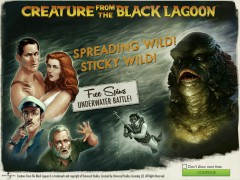 Creature from the Black Lagoon slots77.net NetEnt 1/5