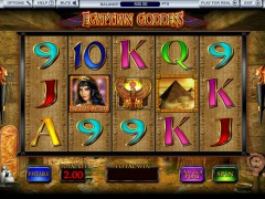 Egyptian Goddess slots77.net Blueprint Gaming 1/5