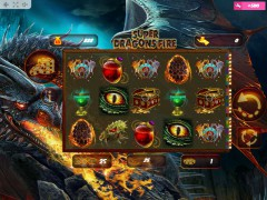 Super Dragons Fire slots77.net MrSlotty 1/5