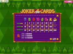 Joker Cards slots77.net MrSlotty 5/5